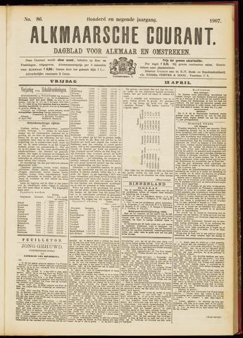 Alkmaarsche Courant 1907-04-12