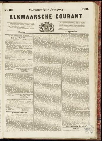 Alkmaarsche Courant 1862-09-28