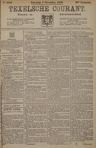 Texelsche Courant 1916-12-09