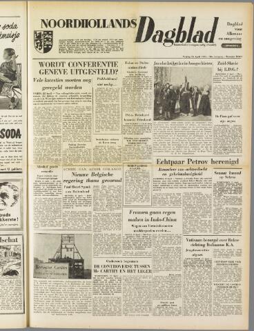 Noordhollands Dagblad : dagblad voor Alkmaar en omgeving 1954-04-23