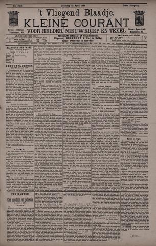 Vliegend blaadje : nieuws- en advertentiebode voor Den Helder 1896-04-18