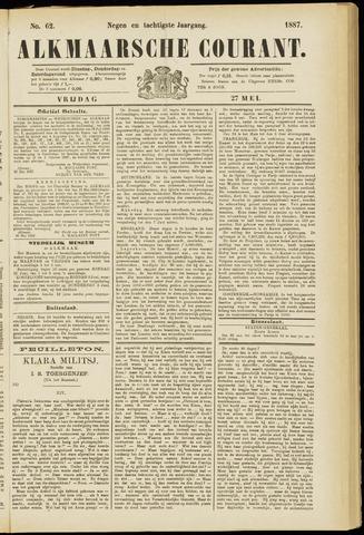 Alkmaarsche Courant 1887-05-27