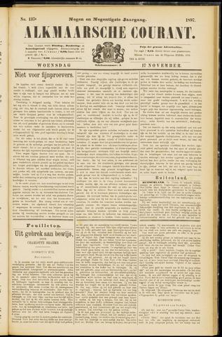 Alkmaarsche Courant 1897-11-17