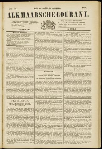 Alkmaarsche Courant 1886-07-16