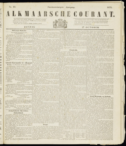 Alkmaarsche Courant 1872-10-27