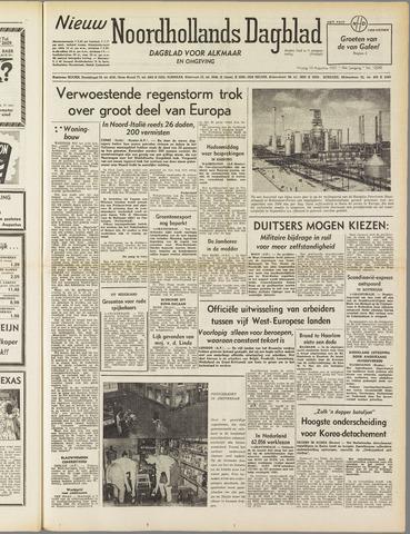 Nieuw Noordhollandsch Dagblad : voor Alkmaar en omgeving 1951-08-10