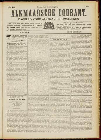 Alkmaarsche Courant 1909-12-10