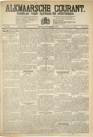 Alkmaarsche Courant 1930-11-07