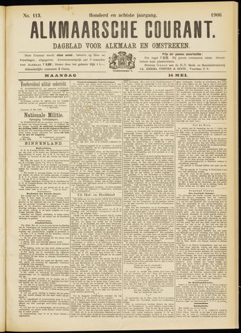 Alkmaarsche Courant 1906-05-14