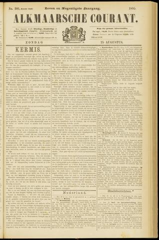 Alkmaarsche Courant 1895-08-25