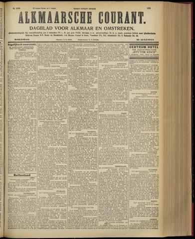 Alkmaarsche Courant 1928-08-22