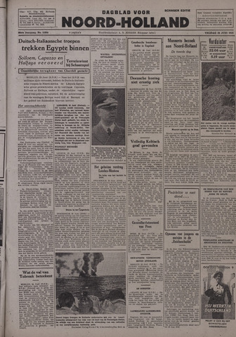 Dagblad Noord-Holland, Schager editie 1942-06-26