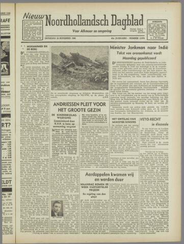 Nieuw Noordhollandsch Dagblad : voor Alkmaar en omgeving 1946-11-16