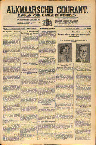 Alkmaarsche Courant 1937-06-16