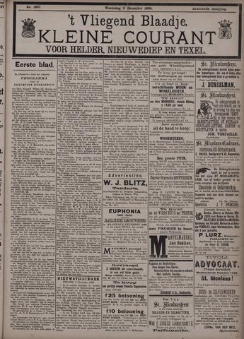 Vliegend blaadje : nieuws- en advertentiebode voor Den Helder 1890-12-03