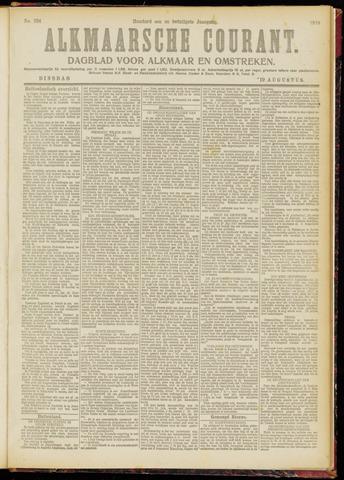 Alkmaarsche Courant 1919-08-19