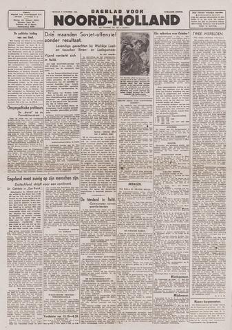 Dagblad Noord-Holland, Schager editie 1943-10-08