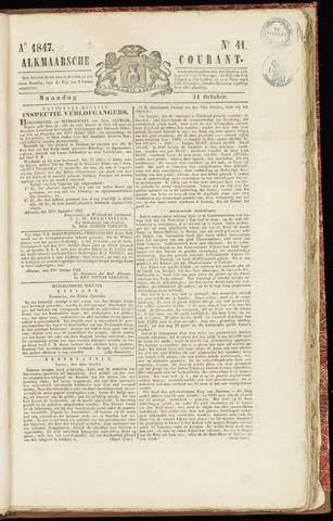 Alkmaarsche Courant 1847-10-11
