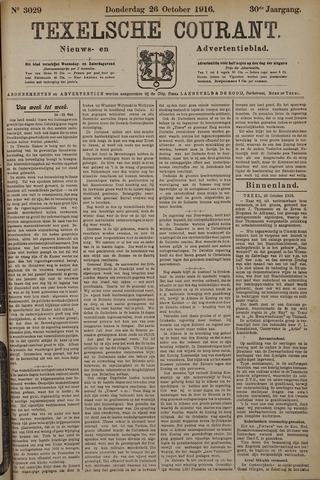 Texelsche Courant 1916-10-26