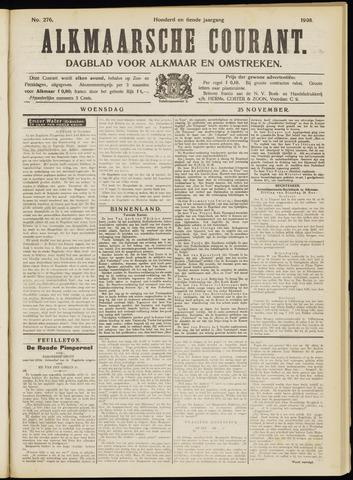 Alkmaarsche Courant 1908-11-25