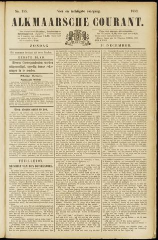 Alkmaarsche Courant 1882-12-31