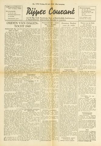 Rijper Courant 1949-07-22