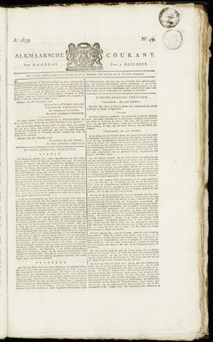 Alkmaarsche Courant 1835-12-07