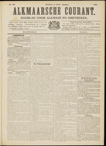Alkmaarsche Courant 1908-07-15