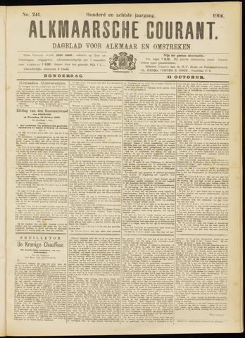 Alkmaarsche Courant 1906-10-11
