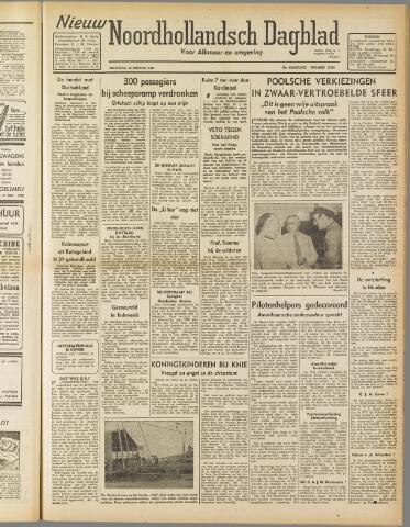 Nieuw Noordhollandsch Dagblad : voor Alkmaar en omgeving 1947-01-20