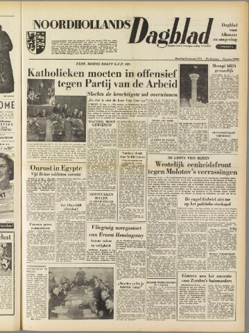 Noordhollands Dagblad : dagblad voor Alkmaar en omgeving 1954-01-25