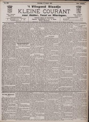 Vliegend blaadje : nieuws- en advertentiebode voor Den Helder 1902-01-22