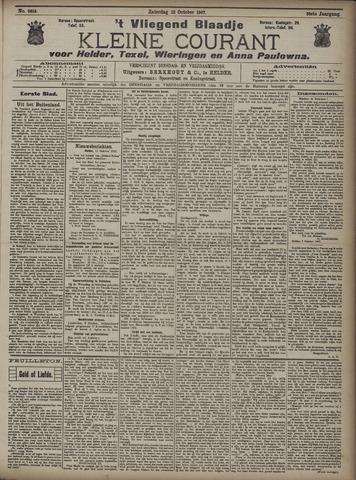 Vliegend blaadje : nieuws- en advertentiebode voor Den Helder 1907-10-12
