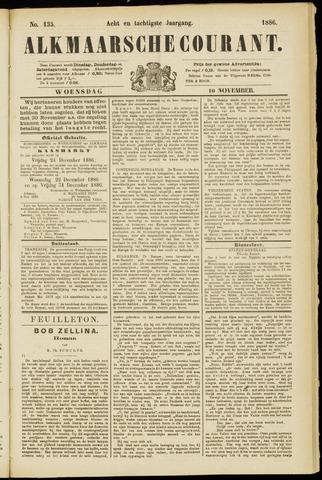 Alkmaarsche Courant 1886-11-10