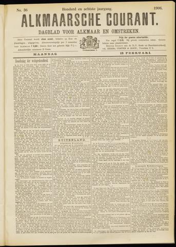 Alkmaarsche Courant 1906-02-12