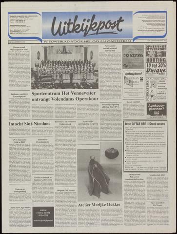 Uitkijkpost : nieuwsblad voor Heiloo e.o. 2000-11-15