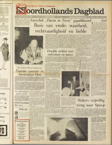 Noordhollands Dagblad : dagblad voor Alkmaar en omgeving 1963-04-10