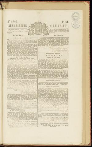 Alkmaarsche Courant 1846-10-26