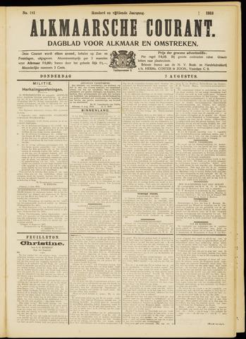 Alkmaarsche Courant 1913-08-07