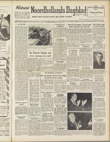 Nieuw Noordhollandsch Dagblad : voor Alkmaar en omgeving 1950-09-23