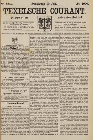 Texelsche Courant 1900-07-19