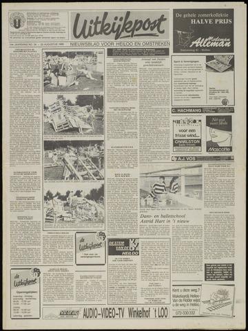 Uitkijkpost : nieuwsblad voor Heiloo e.o. 1989-08-23