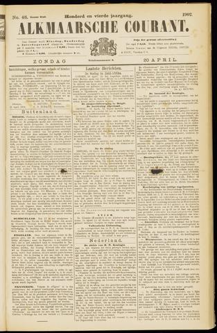 Alkmaarsche Courant 1902-04-20
