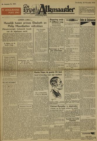 De Vrije Alkmaarder 1947-11-20