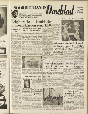 Noordhollands Dagblad : dagblad voor Alkmaar en omgeving 1954-08-19
