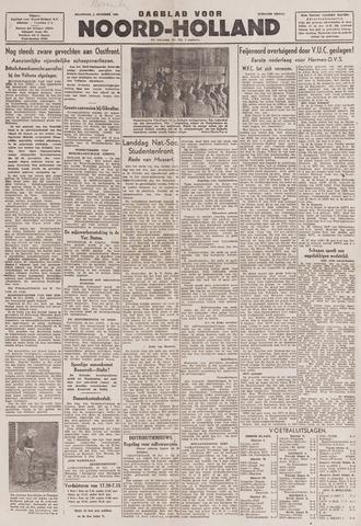 Dagblad Noord-Holland, Schager editie 1943-11-01