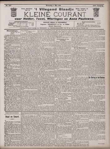 Vliegend blaadje : nieuws- en advertentiebode voor Den Helder 1904-05-04