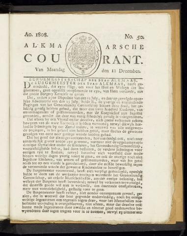 Alkmaarsche Courant 1808-12-12