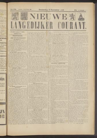 Nieuwe Langedijker Courant 1923-09-06