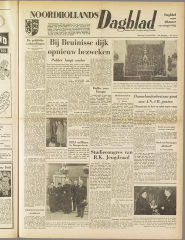 Noordhollands Dagblad : dagblad voor Alkmaar en omgeving 1953-04-13